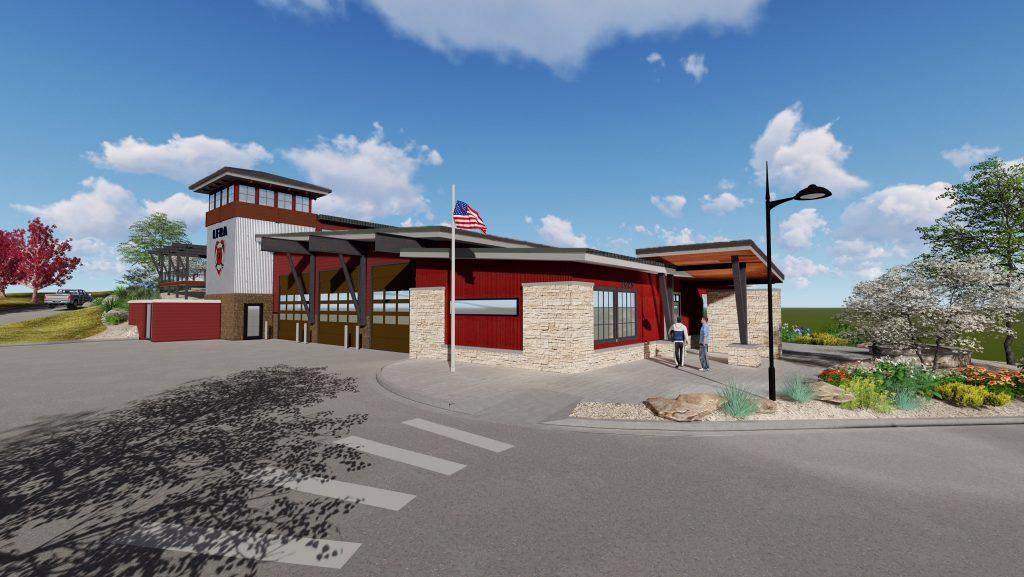 station rendering