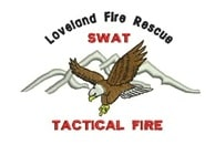 SWAT Tac Fire Patch