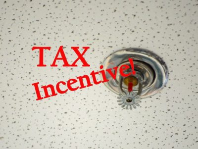 Photo of Fire Sprinkler - Tax Inventive